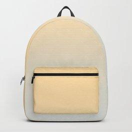 CREAM DREAM - Minimal Plain Soft Mood Color Blend Prints Backpack