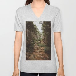 Table Mountains - Landscape and Nature Photography Unisex V-Neck