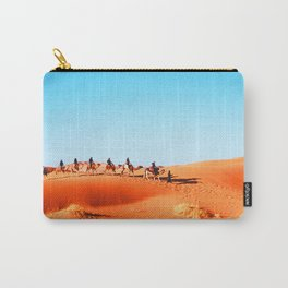 No Desert Heartbeats Carry-All Pouch