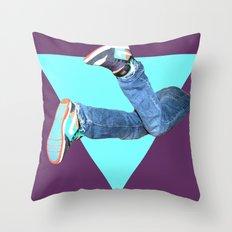 Pumped Up Kicks Throw Pillow