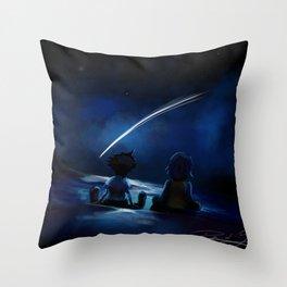 One Sky, One Destiny Throw Pillow