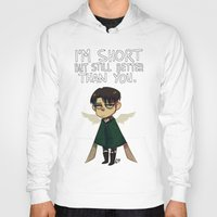 snk Hoodies featuring Heichou by lemonteaflower