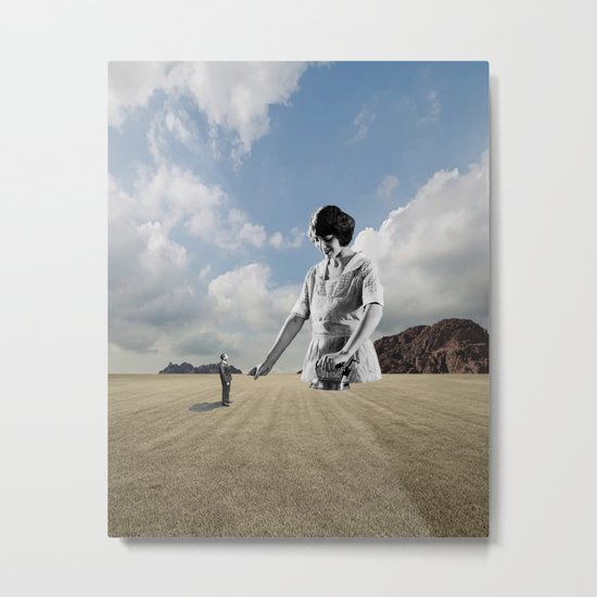 The Irony Of Love Metal Print