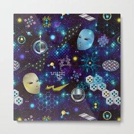 Cosmic Trip Metal Print