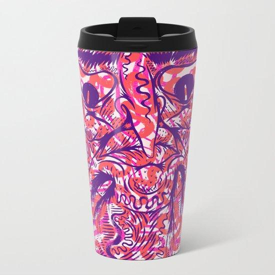DEEP THOUGHT Metal Travel Mug