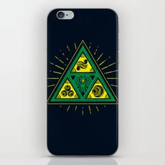 The Tribal Triforce iPhone & iPod Skin