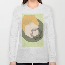 """Canvas Geometry"" Long Sleeve T-shirt"