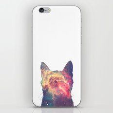 space in cat iPhone & iPod Skin