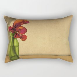 Calla lilies in bloom Rectangular Pillow