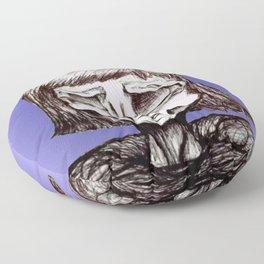 Asymmetric, Ghoul #6 Floor Pillow