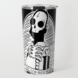 Alternative Punk Homer Simpson Tattoo Art Travel Mug