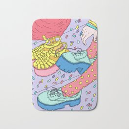 Jelly beans Bath Mat