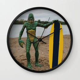 "Surfer ""Dude"" Wall Clock"