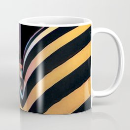 2026s-AK Striped Body Curves by Chris Maher Coffee Mug