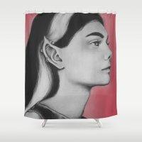 elf Shower Curtains featuring Skunk Elf  by Bella Harris