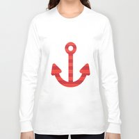 sailor Long Sleeve T-shirts featuring Sailor.. by PearGraphics