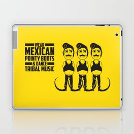 Hector loves tribal music.  Laptop & iPad Skin