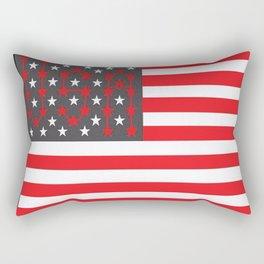 Flag U.S. American United States USA Rectangular Pillow