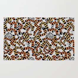 Tiger Toes and Laundry Terrors Rug