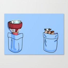 a little of Gravity Falls Canvas Print
