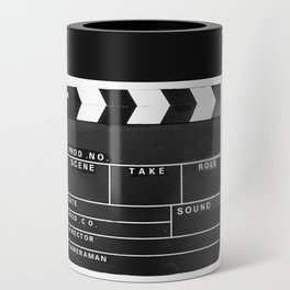 Film Movie Video production Clapper board Can Cooler