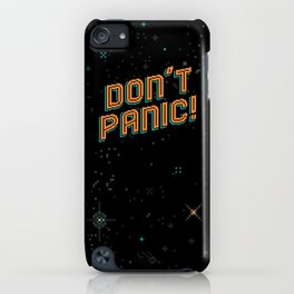 Don't Panic! Pixel Art iPhone Case