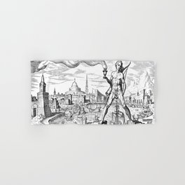 Colossus Of Rhodes Hand & Bath Towel