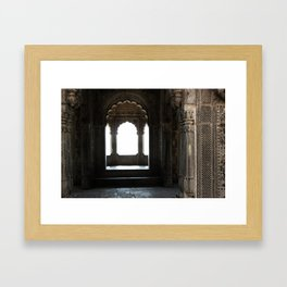 Pavillion in the Palace Framed Art Print