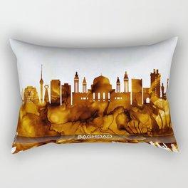 Baghdad Iraq Skyline Rectangular Pillow