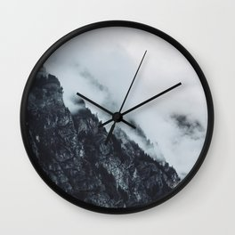 FOG ROLLS IN Wall Clock