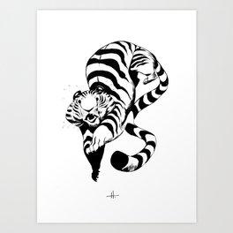 Pounce Art Print