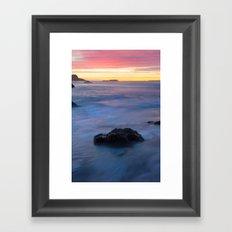 Just A Moment Framed Art Print