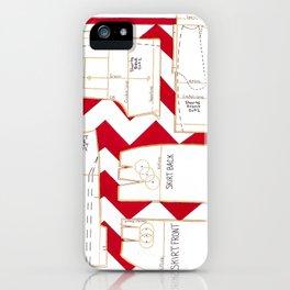 Seaside Stripes Slopers iPhone Case
