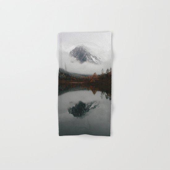 Beautiful Mountain # reflection Hand & Bath Towel