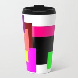 Colour Squares Travel Mug
