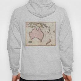 Vintage Map of Australia (1818) Hoody