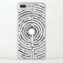 Chartres Garden Clear iPhone Case