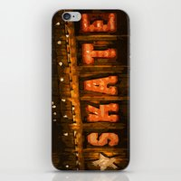 skate iPhone & iPod Skins featuring Skate by Errne