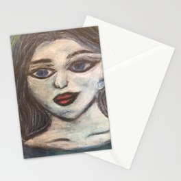 The Maiden cloaked in starlight Stationery Cards