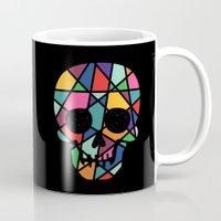 faith Mugs featuring Faith by Andy Westface