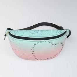 Summer Vibes Glitter Heart #1 #coral #mint #shiny #decor #art #society6 Fanny Pack