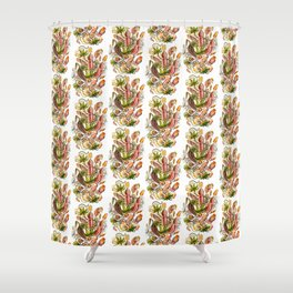 Ernst Haeckel Nepenthaceae Pitcher Plant Shower Curtain