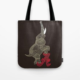 Alabama Proud (Elephant) Tote Bag