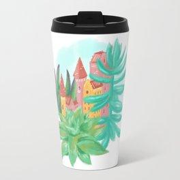 Succulent Castle Travel Mug