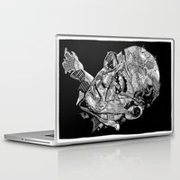 hunter s thompson Laptop & iPad Skins featuring Hunter S Thompson by Andy Christofi