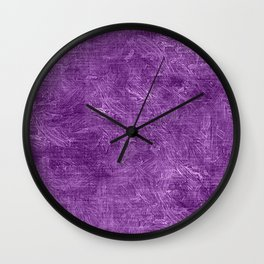 Dewberry Oil Painting Color Accent Wall Clock