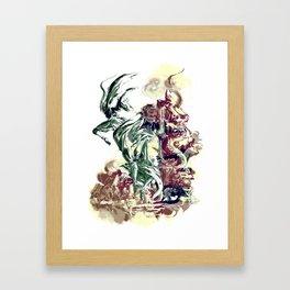 BAD MOON - FALL Framed Art Print