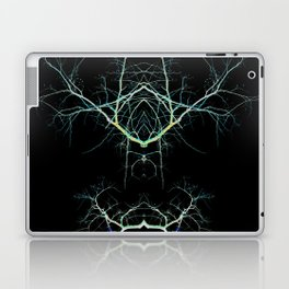 Neon Mirrored Trees 7 Laptop & iPad Skin