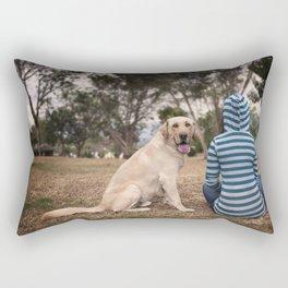 My best friend Rectangular Pillow