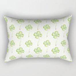 Four Leaf Clover Pattern Rectangular Pillow